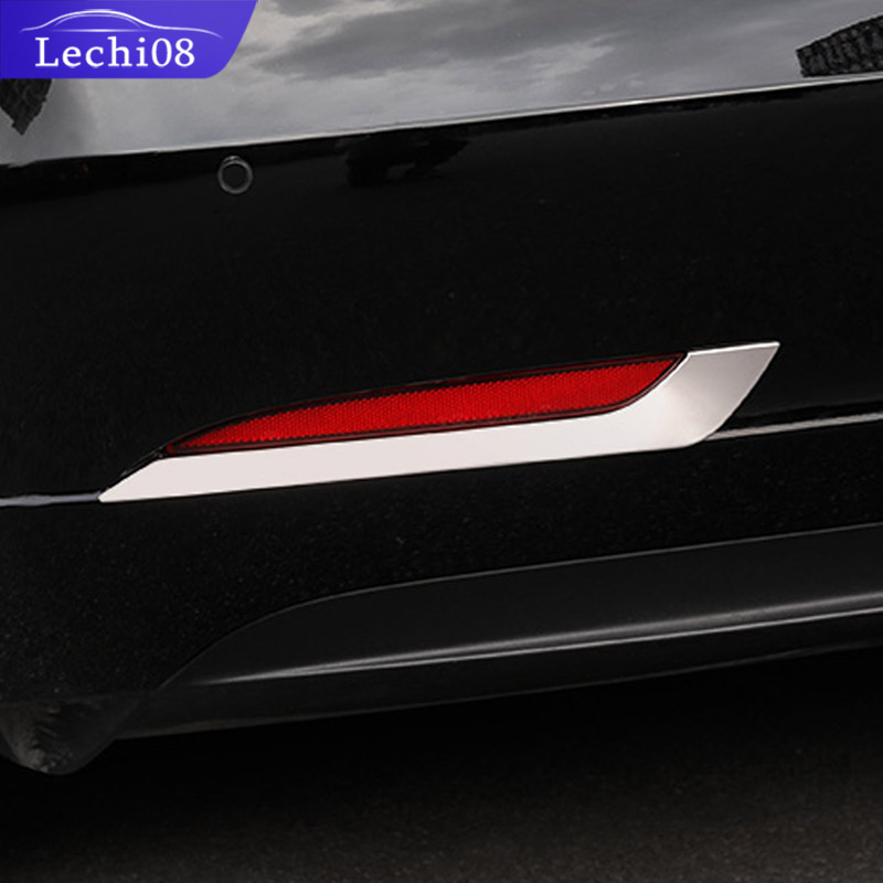 Rear Fog Light Strip For Tesla Model 3 Accessories/car Accessories Model 3 Tesla Three Tesla Model 3 Carbon/accessoires Model3