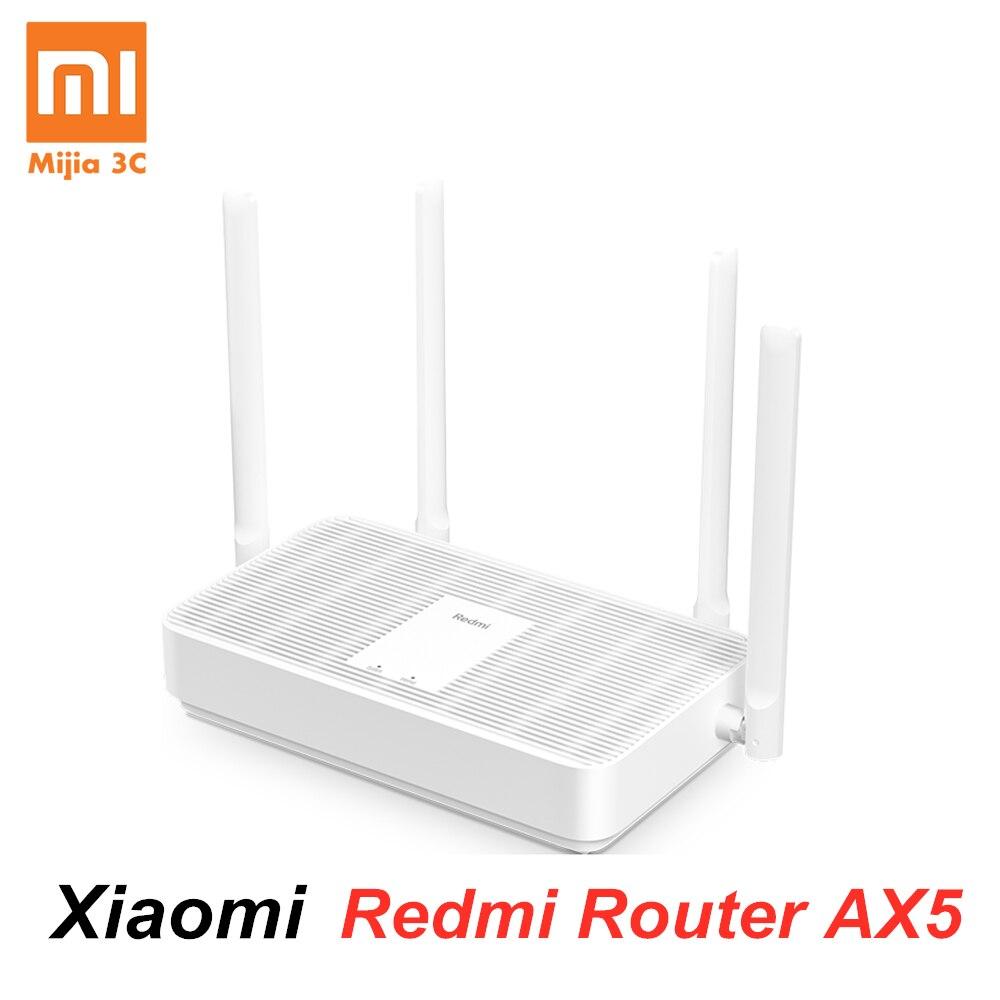New Xiaomi Redmi Router AX5 Wifi 6 Mesh Gigabit 2.4G/5.0GHz Dual-Band Wireless Router Wifi Repeater 4 High Gain Antennas(China)