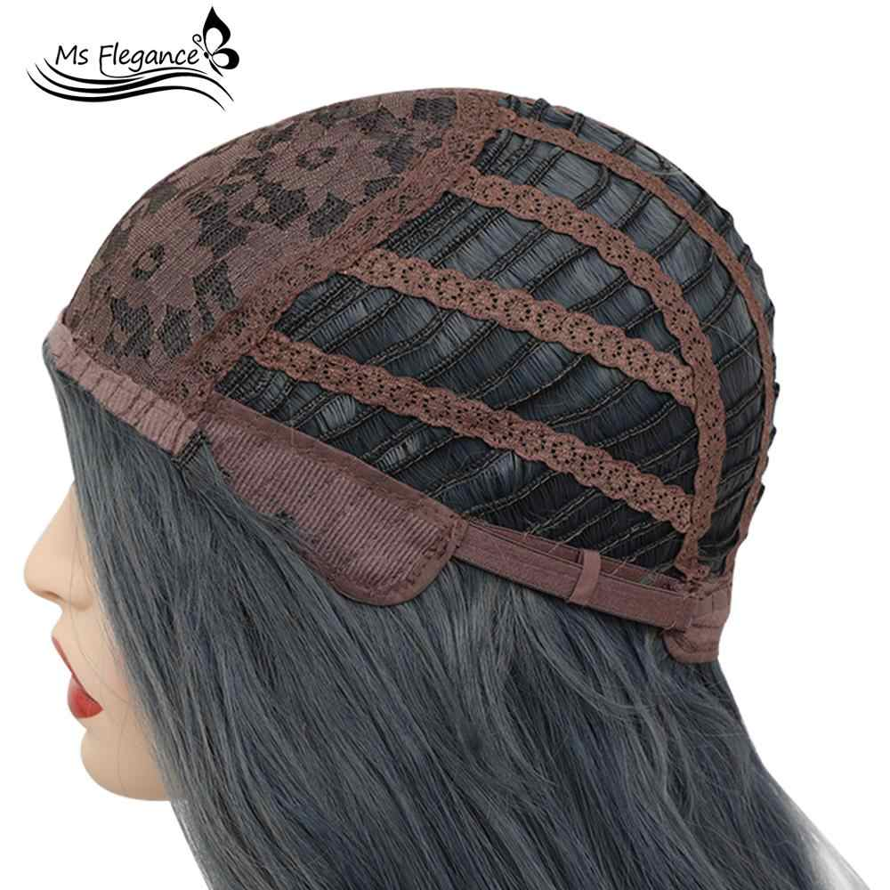 MS FLEGANCE женский черный парик для тела Волнистый Лолита синтетический парик для женщин черный натуральный волос женский парик Косплей парики Повседневные Вечерние