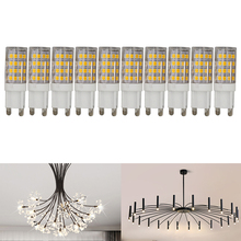 10pcs/lot  G9 LED Light Bulb 5W 7W Lamp warm white 220V Replacement Chandelier Halogen Bulb