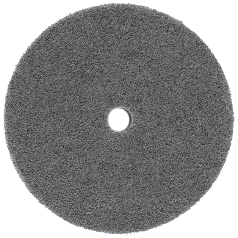 150mm Dia 25mm Thick 180 Grit Fiber Wheel Polishing Buffing Disc