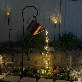 Star Type Shower Garden Art Light Decoration Outdoor Gardening Lawn Lamp Landscape Lighting With Iron Stand Sprinkler Design New 1