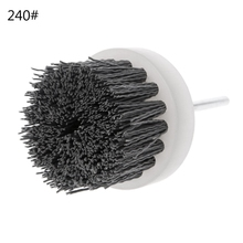 Deburring Abrasive Steel Wire Brush Head Polishing Nylon Wheel Cup Shank 60mm