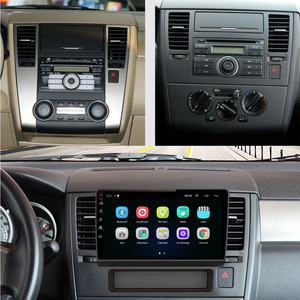 Image 2 - 4G LTE  Android 10.1 For NISSAN TIIDA 2005 2006 2007   2010 2011 Multimedia Stereo Car DVD Player Navigation GPS Radio