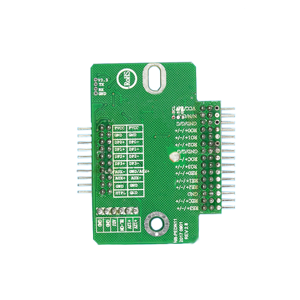 Taidacent EDP To LVDS Converter Universal Driver Board LVDS To EDP Adapter Board EDP LCD Screen Signal Adapter Board