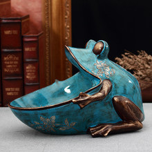 3d frog, estátua, acessório de decoração para casa, escultura, decoração de mesa, caixa de armazenamento, estatueta de mesa em miniatura, festa de casamento arte decorativa