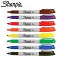 8 teile/los Original Sanford Sharpie Umweltfreundliche Fine Point Permanent Art Marker Stifte 8 Farben Set Farbe Marker