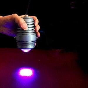 Image 3 - Vusum 100W 365nm 395nm 405nm UV מנורת מתח גבוה זרקור ריפוי מנורת UV מנורת צללים ירוק שמן מחקר LCD מסך