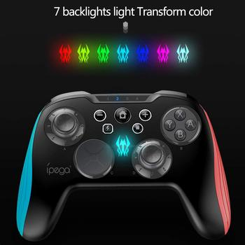 Nintend Switch Console Bluetooth Wireless Controller Joystick Gamepad 3D Changeable Key Backlight TURBO For Android Tablet PC 3