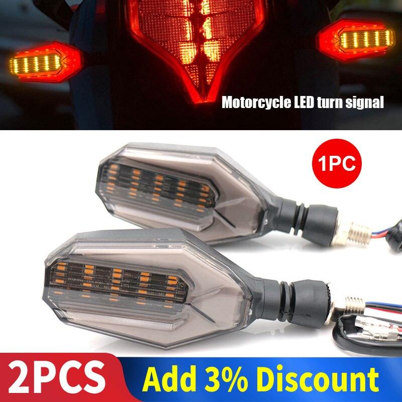 Universal Turn Signal Light Motorcycle 12V Indicator Light Running Light Signal Lamp Durable LED Turn Signal