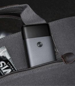 Image 5 - Xiaomi Mijia נייד גברים תער גילוח חשמלי הדדיות 2 סכין ראש IPX7 עמיד למים סוג C טעינה אלחוטי מכונת גילוח
