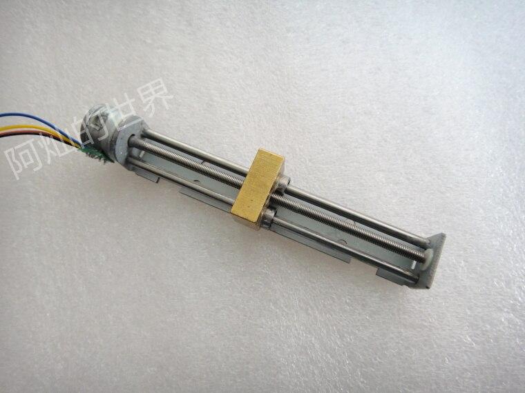 Miniature Slide Linear Bearing Stepper Motor Linear Screw Slider Nut 15 Motor Diy