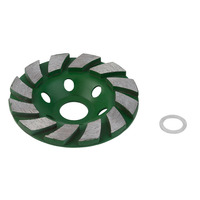 Durable Use 100mm 4 Inch Diamond Grinding Wheel Concrete Cup Disc Concrete Masonry Stone Tool Bowl Shape Grinding Stone Grinders     -