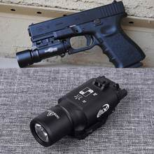Тактический Пистолет X300, свет для разведки оружия, для страйкбола, пистолета, винтовки с 20 мм Пикатинни, Вивера, рельса, охоты, вссветильник