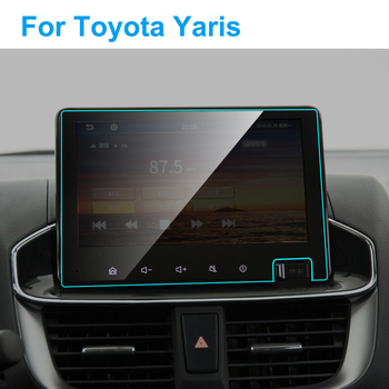 Car GPS Navigation Tempered Glass Screen Protector for Toyota Yaris 2020 Auto Interior Screen Portective Film Car Accessories image