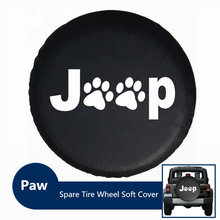 PVC Anti-corroding Car Wheel Spare Tire Cover Case Universally Fits For Jeep Wrangler Compass Patriot Cherokee SUV Ford 4X4