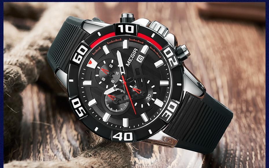 Hf79874c2a04941ff8e030dd8d148d512M Sport Watch Silicone Quartz Military Watches
