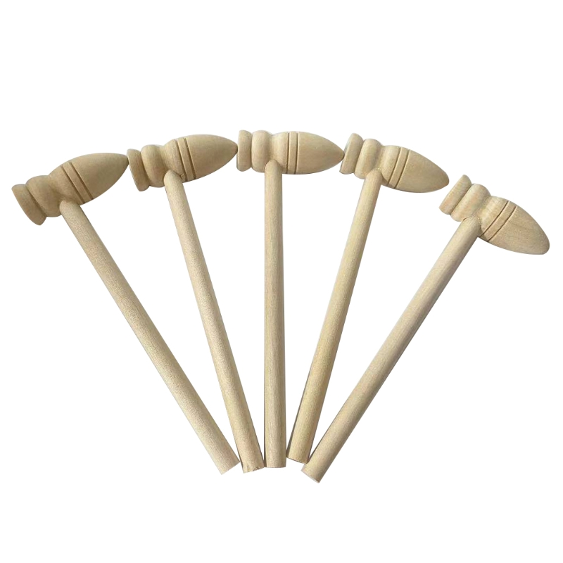 Деревянный Мини-молоток, деревянный Краб или лобстер, молотки для морепродуктов, натуральный Краб из твердой древесины 87HA