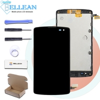 Catteny For LG Optimus F60 Display D390 L Fino Screen D290 D295 Lcd Display With Touch Screen Digitizer With Frame Assembly