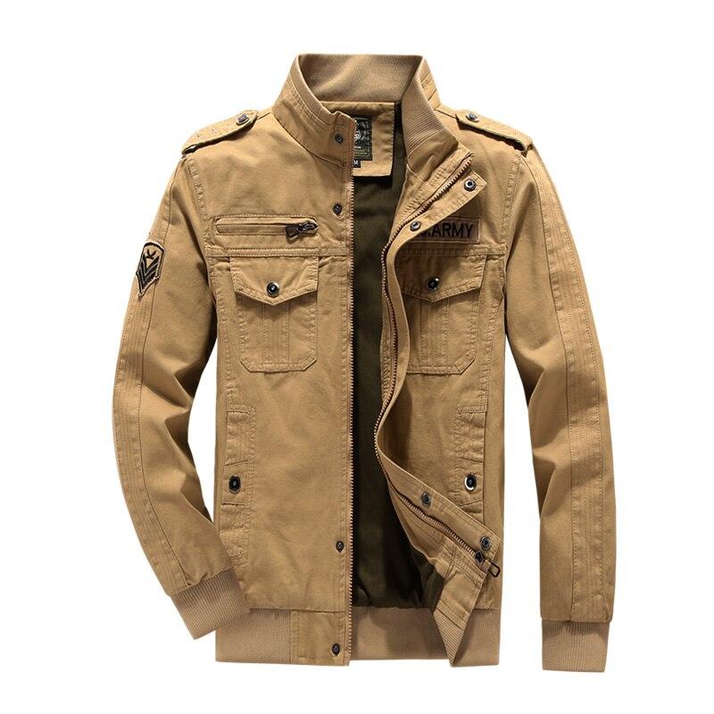 Jackets Man Streetwear Mens Jackets and Coats Cotton Autumn Men's Jacket ma-1 Casual Jacket Man Military Jacket 5xl Men M-6XL