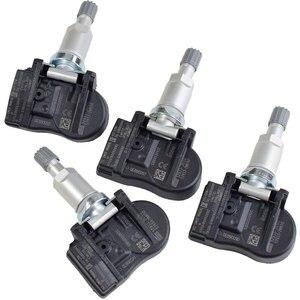 4 шт. для Hyundai Equus Santa Fe система контроля давления в шинах датчик 433 МГц TPMS датчик 52933-3N100 529333N100 давление в шинах