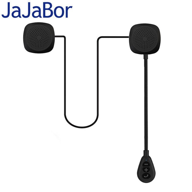 JaJaBor 5th Generation Bluetooth 5.0 Motorcycle Helmet Headset Wireless Speaker Headphone Handsfree Call Music Play MH05