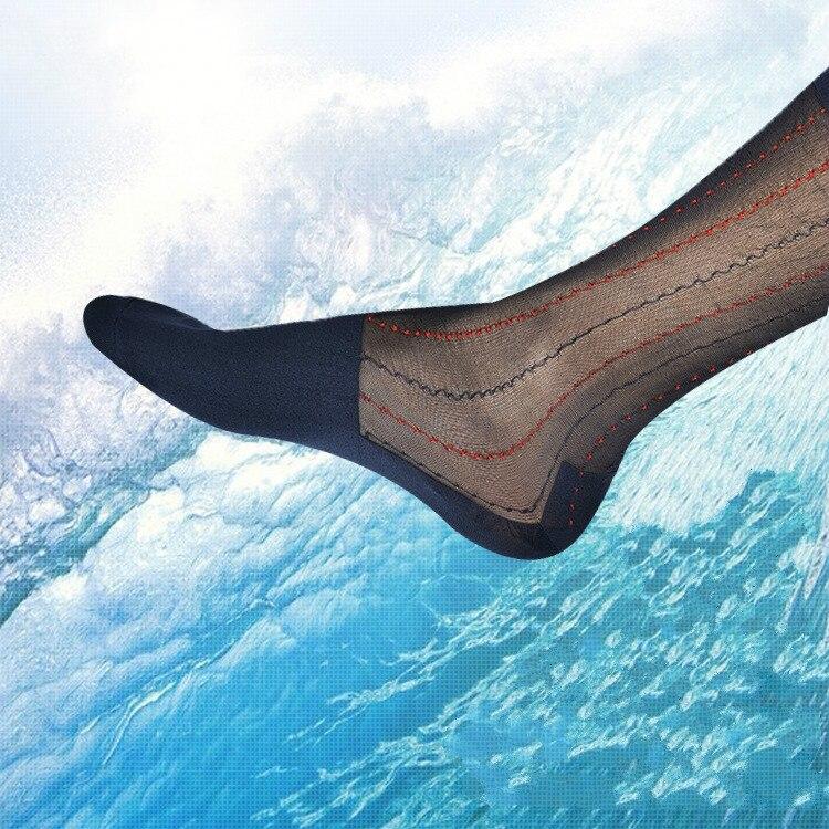 Tube Socks Summer Dress Socks Gifts For Men Sheer Socks Exotic Formal Wear Socks Men Sexy Gay Transparent Business TNT Socks