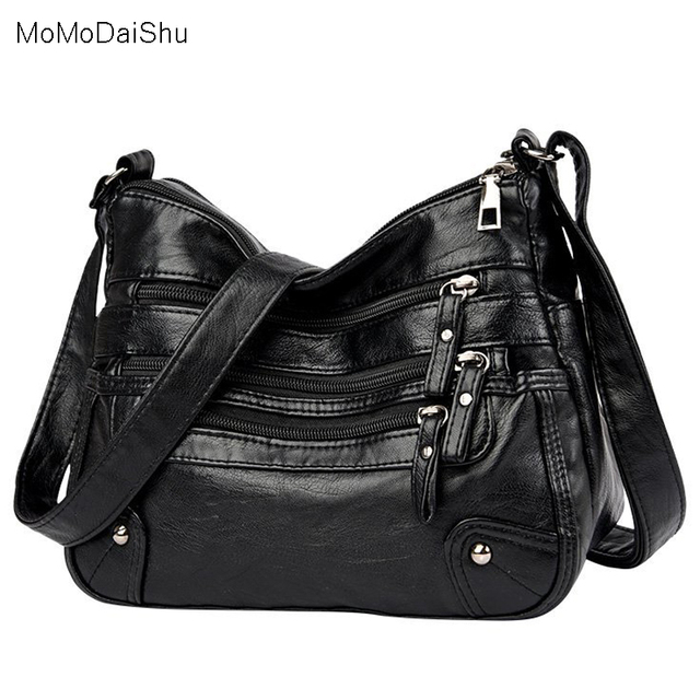 High Quality Women's Soft Leather Shoulder Bags Multi-Layer Classic Crossbody Bag Luxury Designer Handbag and Purse 1