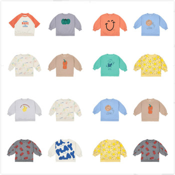 Pre-sale 2021 BC spring and summer new European and American children's t-shirts for boys and girls top 1