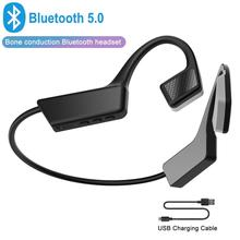 Wireless Bluetooth Headset Bone Conduction Headphones Portab