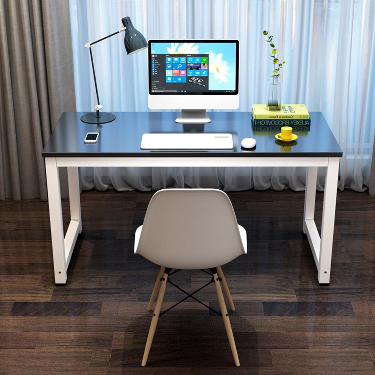 Large Size Regular Wood Computer Desks For Home Office Computer Desktop Desk Student Kids Learn Bedroom Dormitory Table Desks