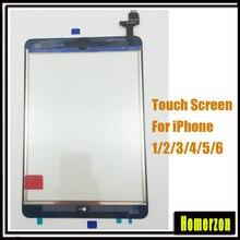 Qualidade original da tela de toque para ipad 2 3 4 5 para ipad 6/ar 2 digitador da frente vidro substituição do painel toque