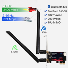 Network-Card Wifi-Adapter Desktop-Pc AX200 PCIE Bluetooth Dual-Band 3000mbps Wireless