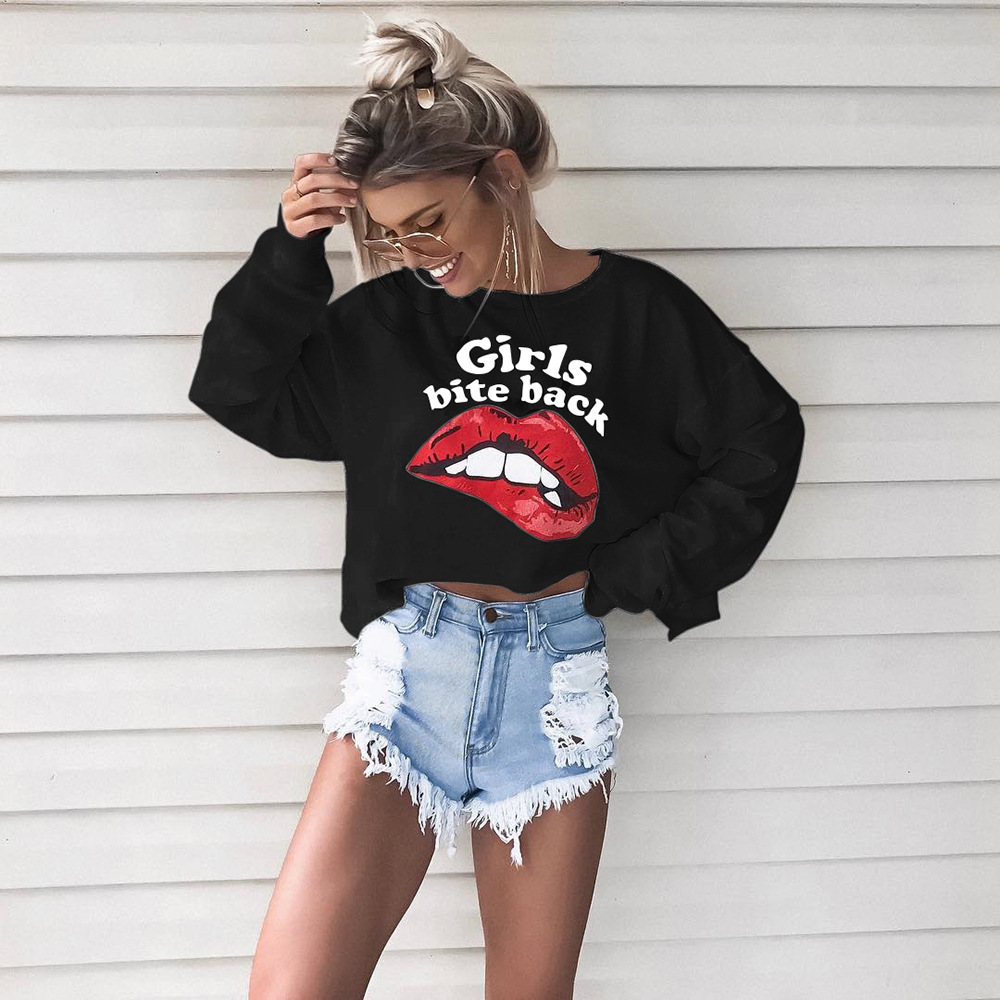 New Graphic Tees Women Long Sleeve Womens Printed shirt Female Shirts Tee Tops Casual T-shirts