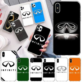 PENGHUWAN Super Car Infiniti Logo Customer High Quality Phone Case for iPhone 11 pro XS MAX 8 7 6 6S Plus X 5S SE 2020 XR cover image