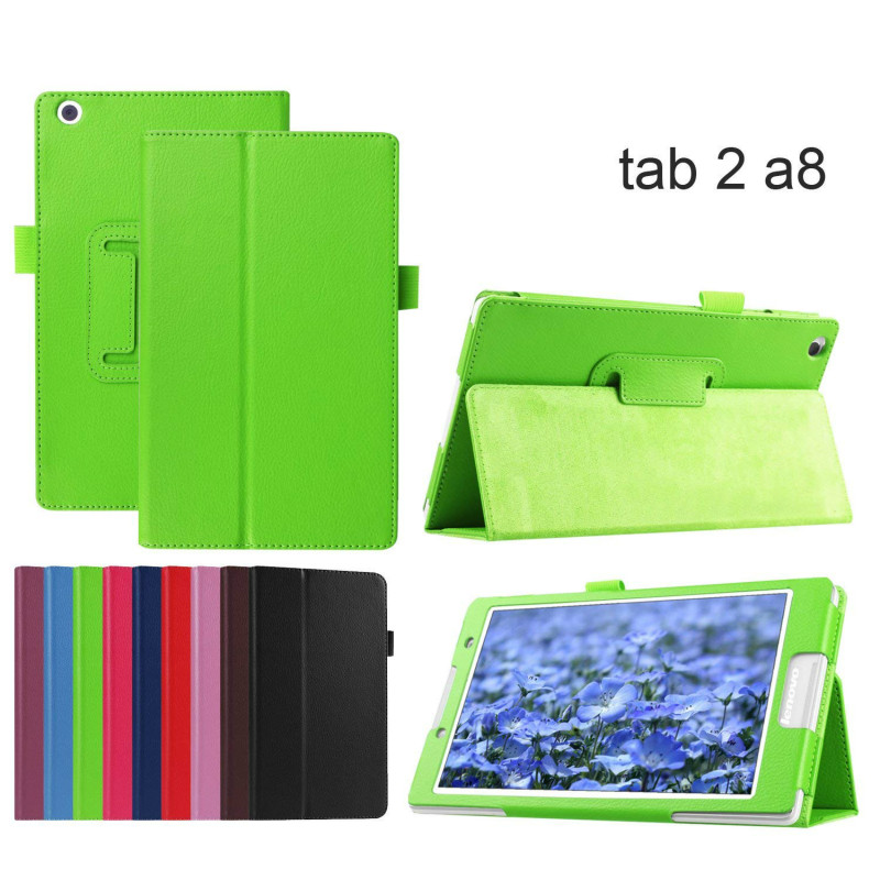 Para lenovo tab2 a8 suporte de couro do plutônio capa protetora para lenovo tab 2 A8-50 A8-50F A8-50LC 8 tab tab 3 8 TB3-850M/850f tablet