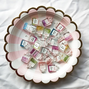 10pcs/lot Fashion Charm Resin Perfume Bottle Pendants Jewelry Accessories DIY Handmade Making Necklace Earrings Jewelry