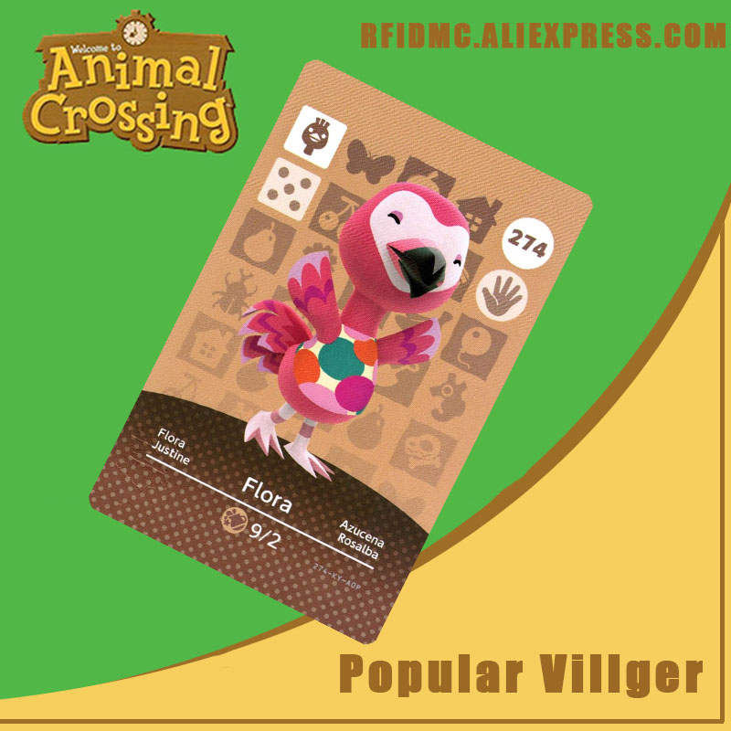 274 Flora Animal Crossing Card Amiibo For New Horizons