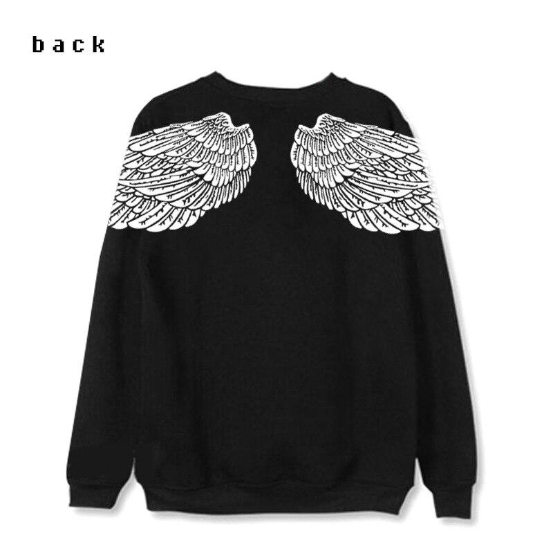 brancas camisolas femininas primavera e outono k-pop