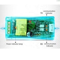 PZEM 004T 3.0 wersja moduł komunikacyjny TTL modbus rtu AC jednofazowy 100A PXPC w Liczniki energii od Narzędzia na