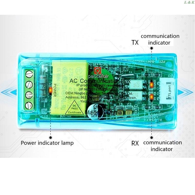 PZEM-004T Module de Communication Version 3.0 TTL modbus-rtu ca monophasé 100A PXPC