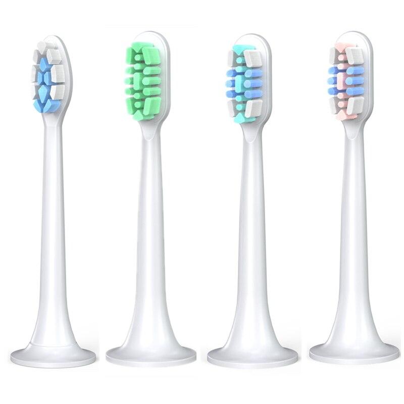 4 предмета в комплекте, для Xiaomi Ультразвуковая электрическая зубная щетка для зубных щеток T300 T500 ультразвуковой 3D отбеливание высокой плотн...