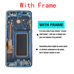 Image 5 - オリジナル amoled 交換 S9 S9Plus lcd ディスプレイタッチスクリーンデジタイザ G960 G965 ディスプレイ