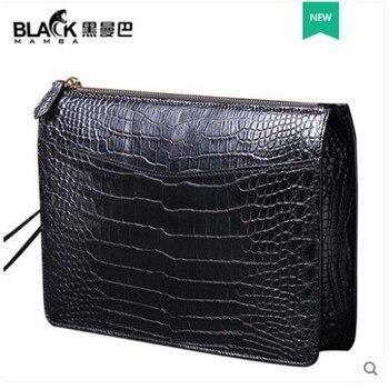 Bolso de mano para hombre, bolso de mano de negocios, bolso de mano de cuero para hombre bolsa