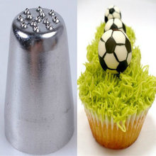 Icing Piping Nozzle Silver Grass Hair Cake Cupcake Decorating Tip Tools LOW PRICE Kitchen Bake Tool(China)