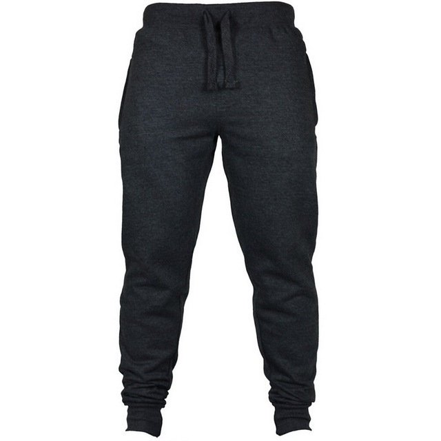 New Casual Sweatpants Solid High Men Joggers Oversize Brand High Quality