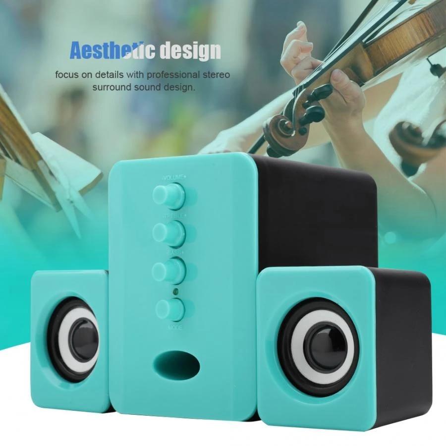 Sada D 202 Bluetooth Speaker Usb Powered 5v 2 1 Surrounding Stereo Bass For Ipad For Tablet Phone Laptio 3 Bass Speaker Portable Speakers Aliexpress