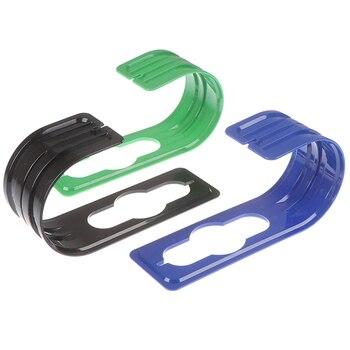 Gancho de la manguera de plástico para jardín, Marco enrollable, soporte de tubo expandible, boquilla de ducha para riego de jardín, estante para almacenaje de mangueras