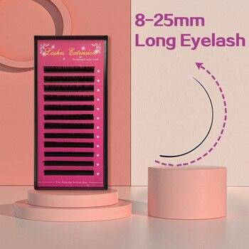 Free Shipping False Mink Individual Eyelash Extension,Premium Individual Lashes Extension Mink Eyelash Extension Cilia Makeup 1
