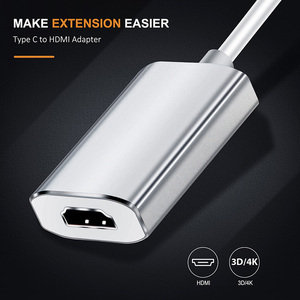 Image 5 - Cabletime 2020 usb c hdmiアダプタータイプc 3.1 hdmi 4 18k 60 60hz hdtv用macbook銀河s10注10 huawei社サムスンC032